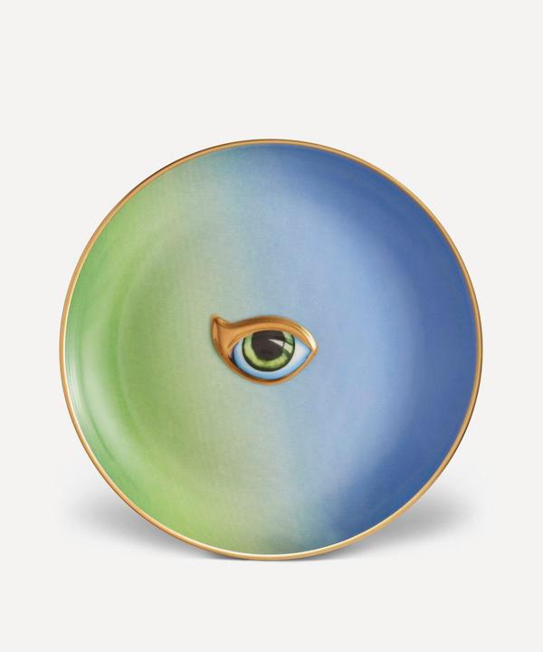 L'objet Lito Eye Plate In Blue
