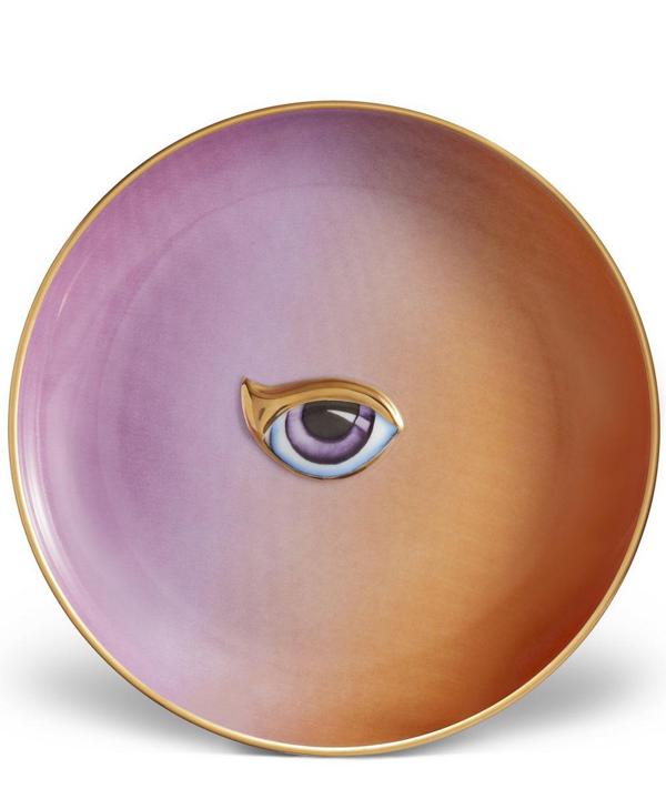 L'objet Lito Eye Plate In Orange