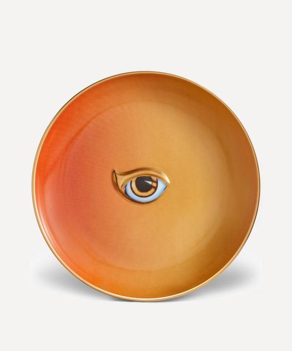 L'objet Lito Eye Plate In Yellow