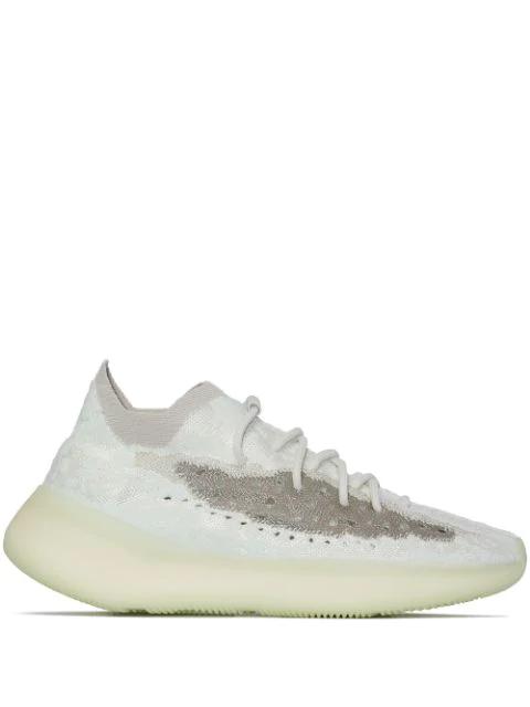 Adidas Originals White Boost 380 Calcite Glow Sneakers