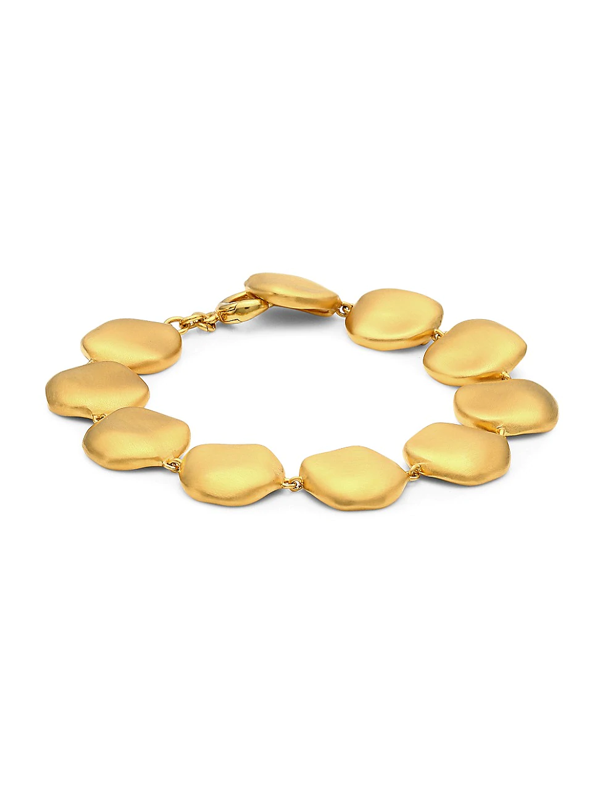 Dean Davidson Women's 22k Goldplated Large Bead Bracelet