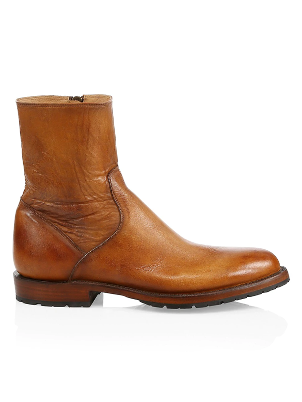Lucchese Men's Jayden Leather Boots In Light Brown