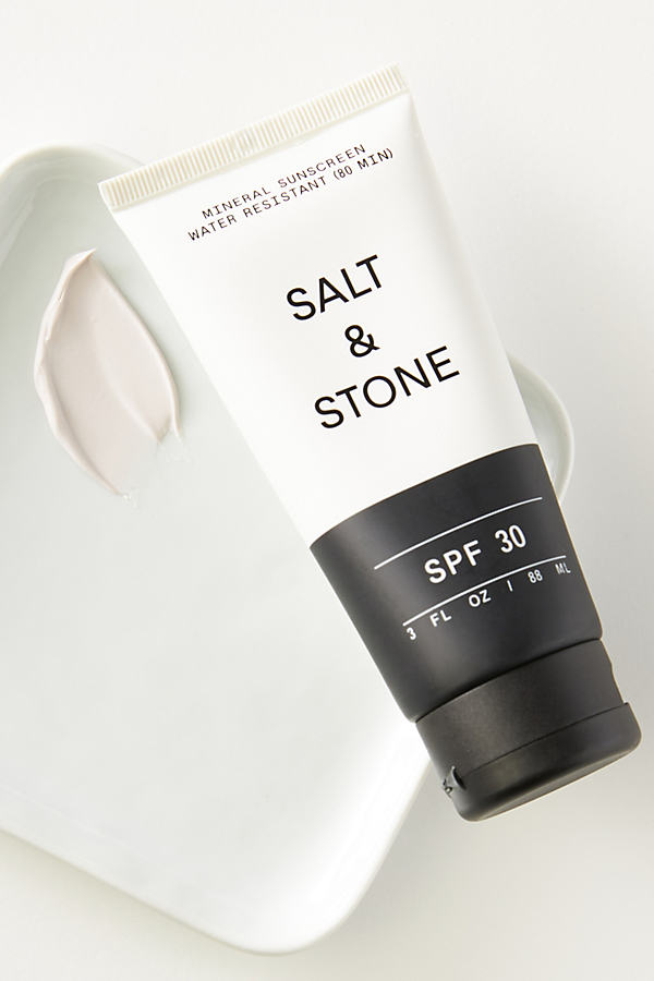 Salt & Stone Natural Mineral Spf 30 Sunscreen Lotion In White