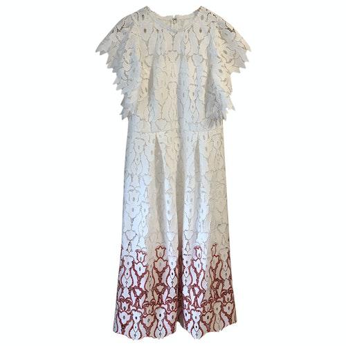 Pre-owned Monique Lhuillier Multicolour Dress