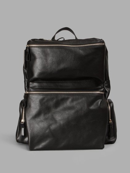 Andrea Incontri Black Adventure Backpack
