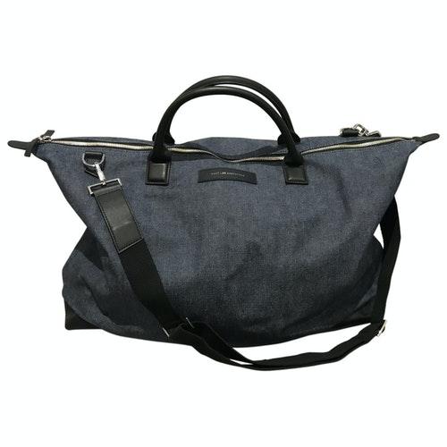 Pre-owned Want Les Essentiels De La Vie Blue Cloth Bag