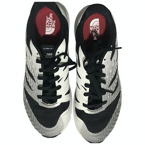 Pre-owned The North Face White Leather Trainers