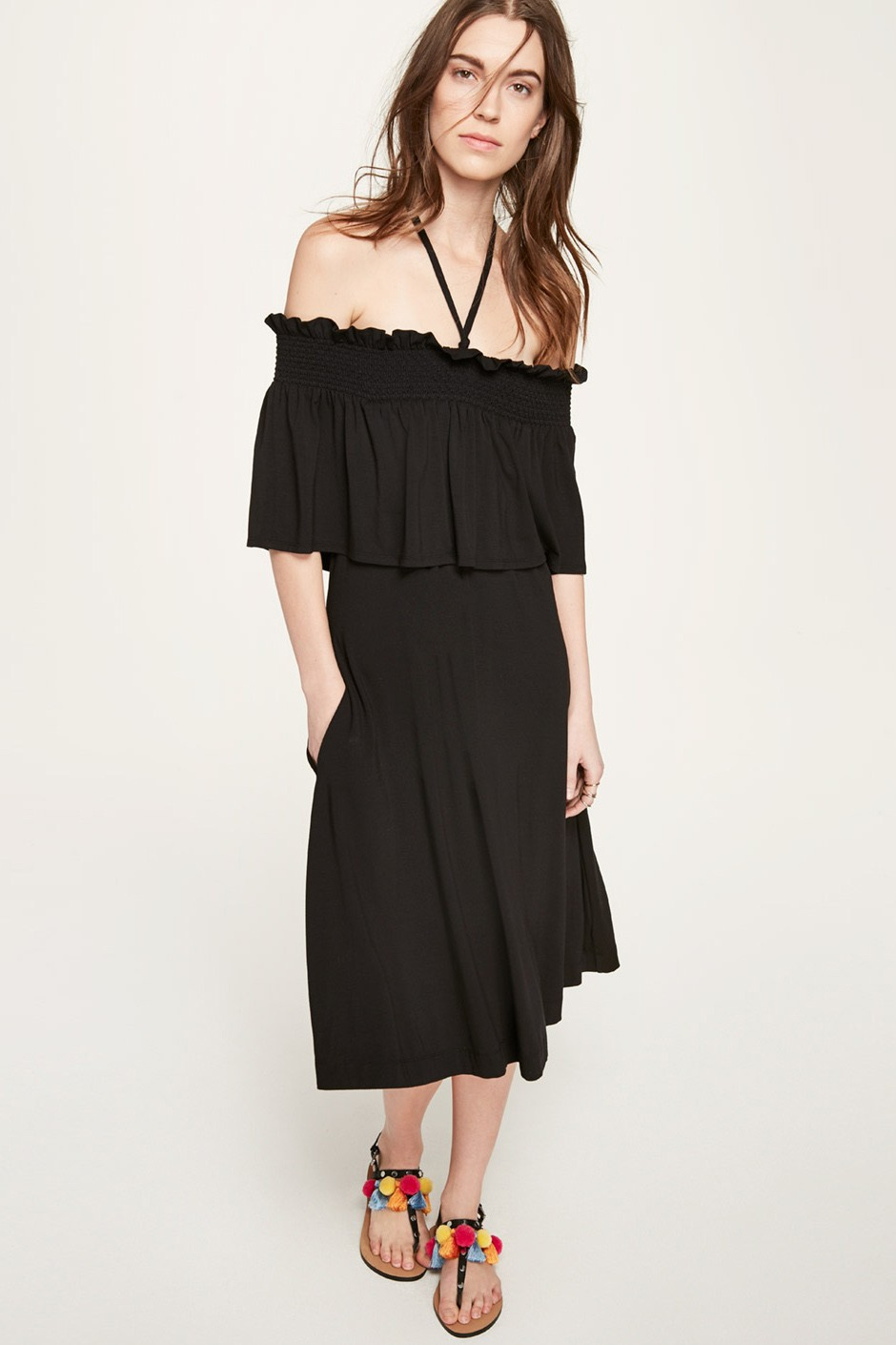 Rebecca Minkoff Ghiradelle Dress In Black