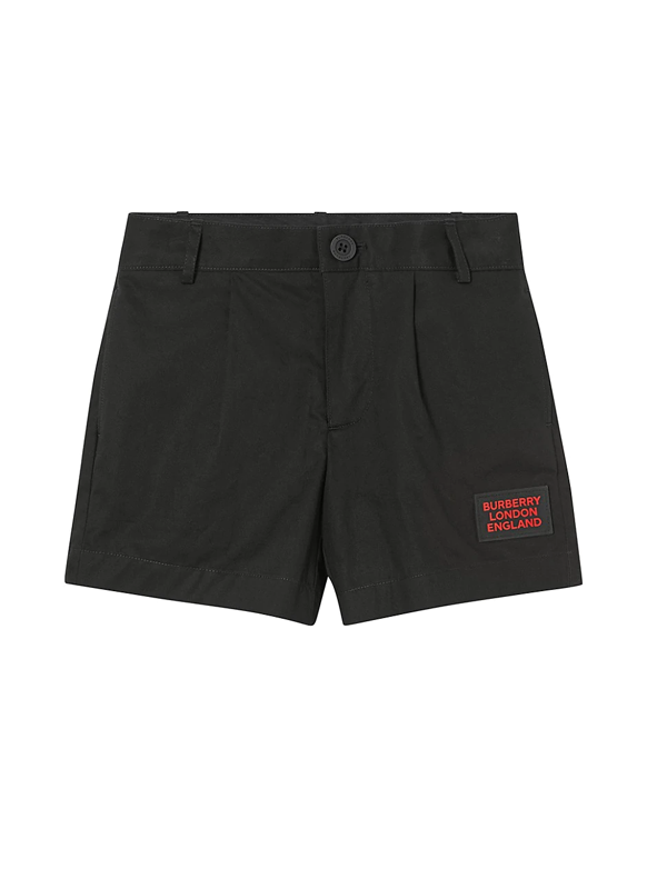 Burberry Kids' Little Boy's & Boy's Kb4 Shane Shorts In Black
