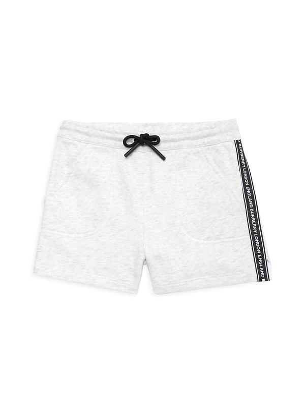 Burberry Kids' Little Girl's & Girl's Nala Tape Shorts In White