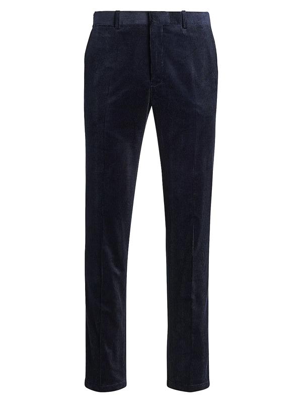 Polo Ralph Lauren Men's Corduroy Suit Trousers In Navy