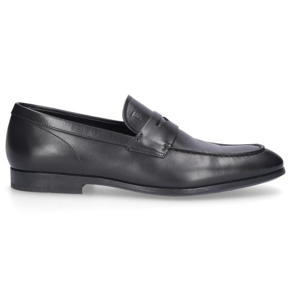 Tod's Men Loafers Mocassino In Black