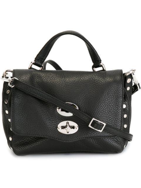 Zanellato Baby Postina Crossbody Bag In 02 Black