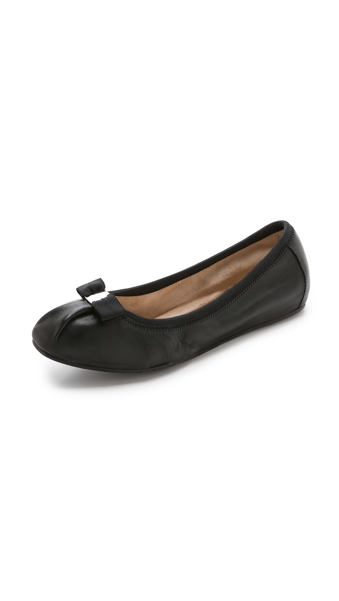 Salvatore Ferragamo 'My Joy' Flat (Women) In Nero