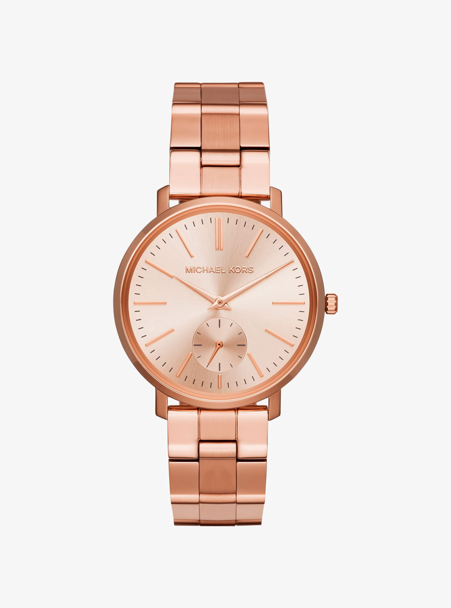Michael Kors Jaryn Rose Gold Tone Watch Modesens
