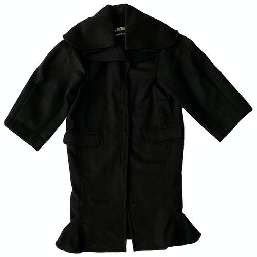 Pre-owned Jacquemus L'amour D'un Gitan Wool Coat In Black