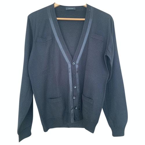 Pre-owned Azzaro Black Wool Knitwear & Sweatshirts