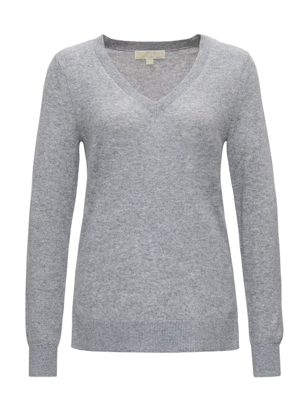 Michael Michael Kors Cashmere Jumper  In Grey
