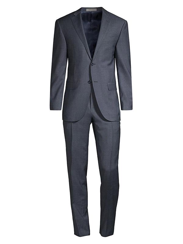 Corneliani Men's Winter Zero Wool 2-piece Suit In Blue