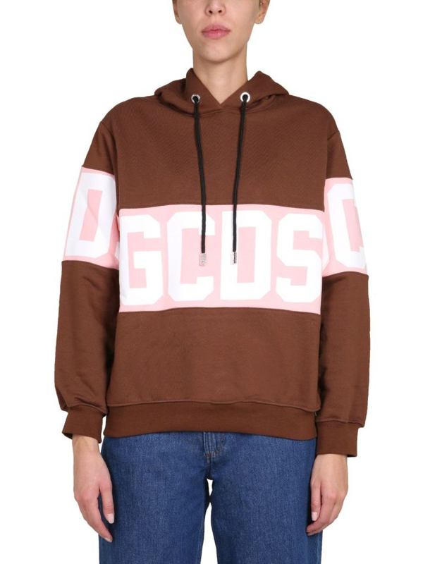 Gcds Women's Brown Sweatshirt