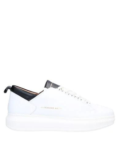 Alexander Smith Sneakers Con Logo In White