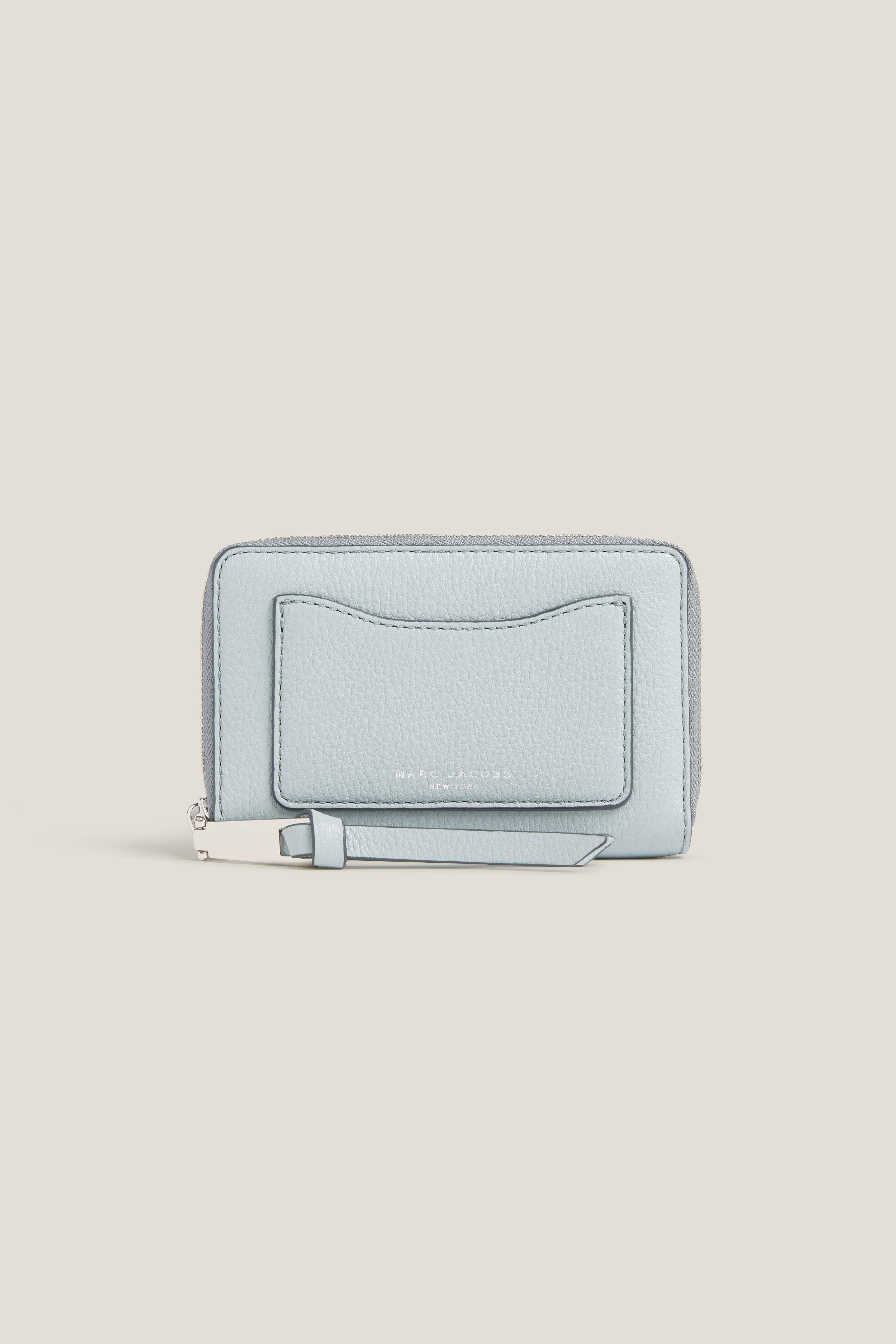 Marc Jacobs Recruit Zip Phone Wristlet In Black