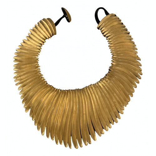 Pre-owned Monies Gold Gold Plated Necklace