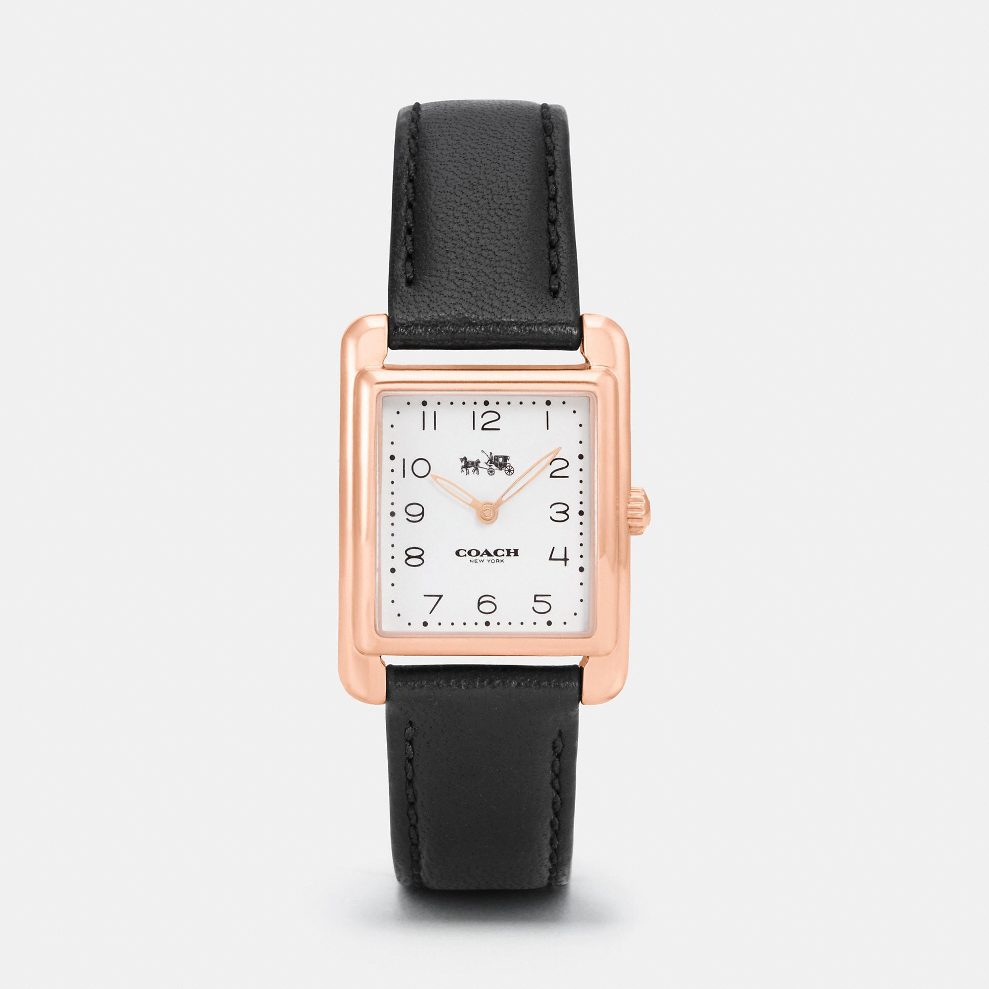 Coach Page Watch In Black