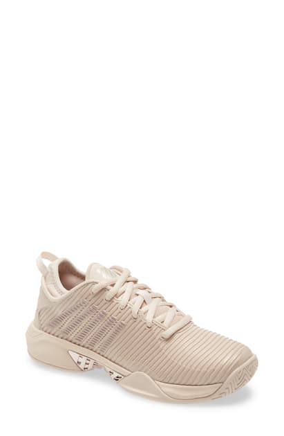 K-swiss Hypercourt Supreme Tennis Shoe In Pink Tint/ Rose Gold