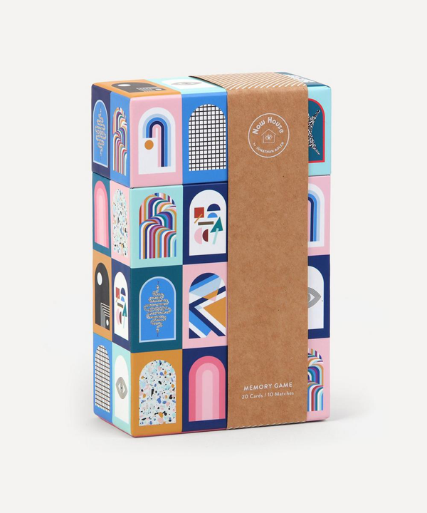 Abrams And Chronicle Books Jonathan Adler Now House Memory Game In Multicoloured