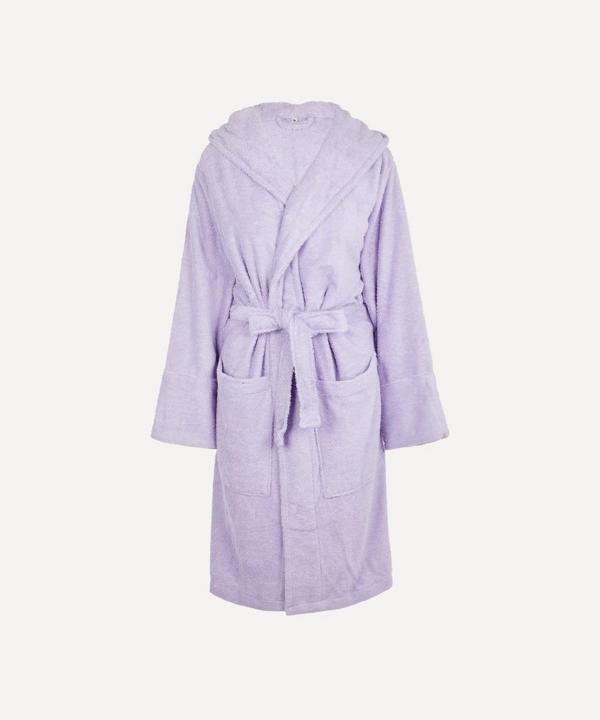 Tekla Large Bathrobe In Lavender