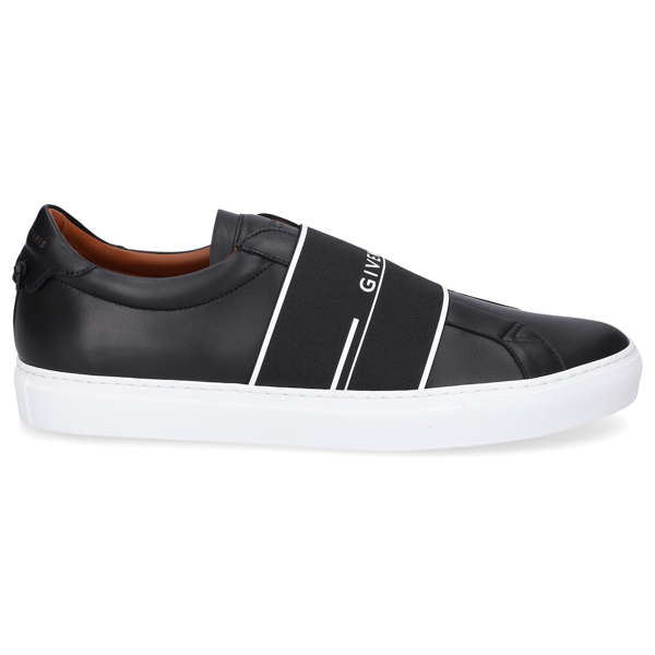 Givenchy Men Low-top Sneakers Urban Street Calfskin Logo Black