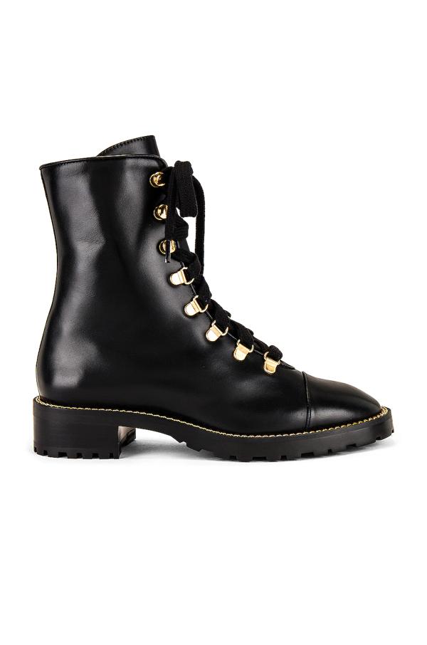 Stuart Weitzman Kolbie Black Leather