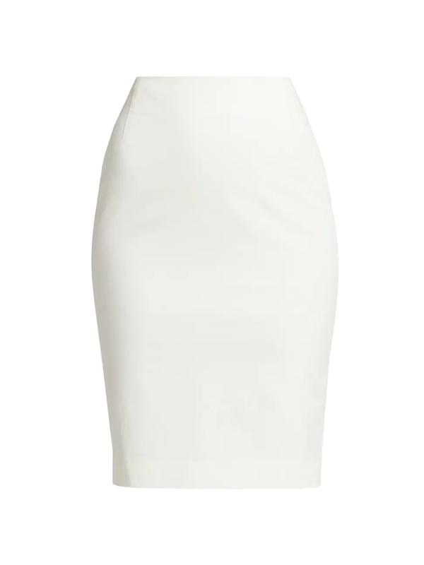 Akris Punto Women's Pencil Skirt In Cream