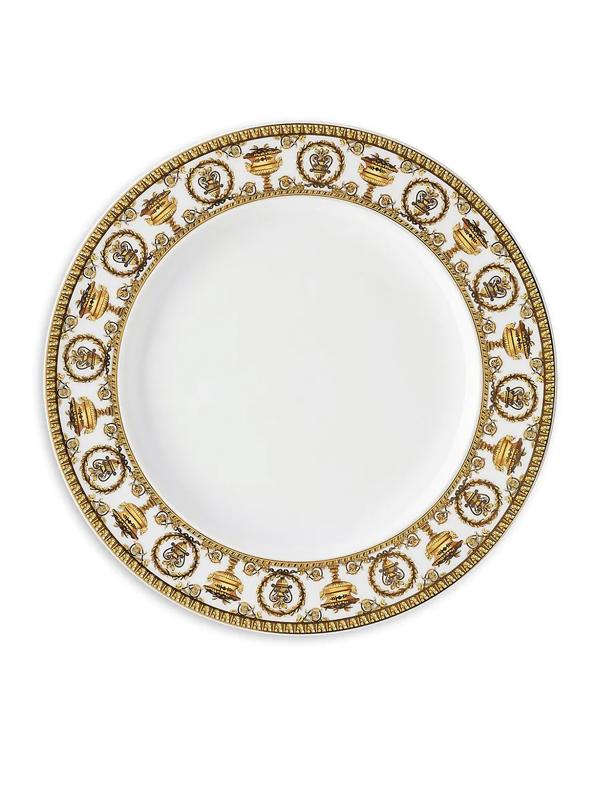 Versace I Love Baroque Porcelain Dinner Plate