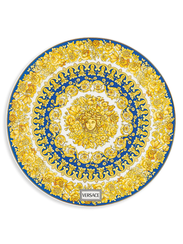 Versace Medusa Rhapsody Porcelain Service Plate