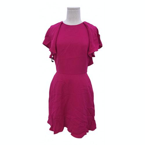 Pre-owned Monique Lhuillier Pink Dress