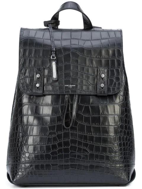 Saint Laurent Sac De Jour Souple Backpack In Black