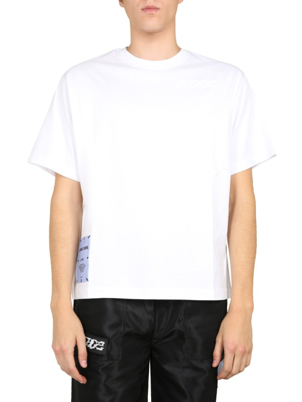 Mcq By Alexander Mcqueen Relaxed Fit T-shirt Unisex In White