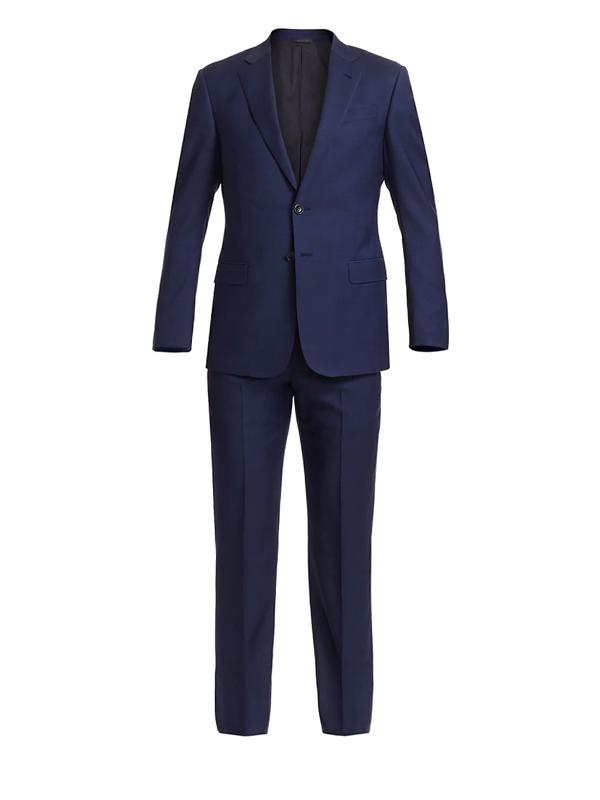 Giorgio Armani Men's Wool Suit In Navy