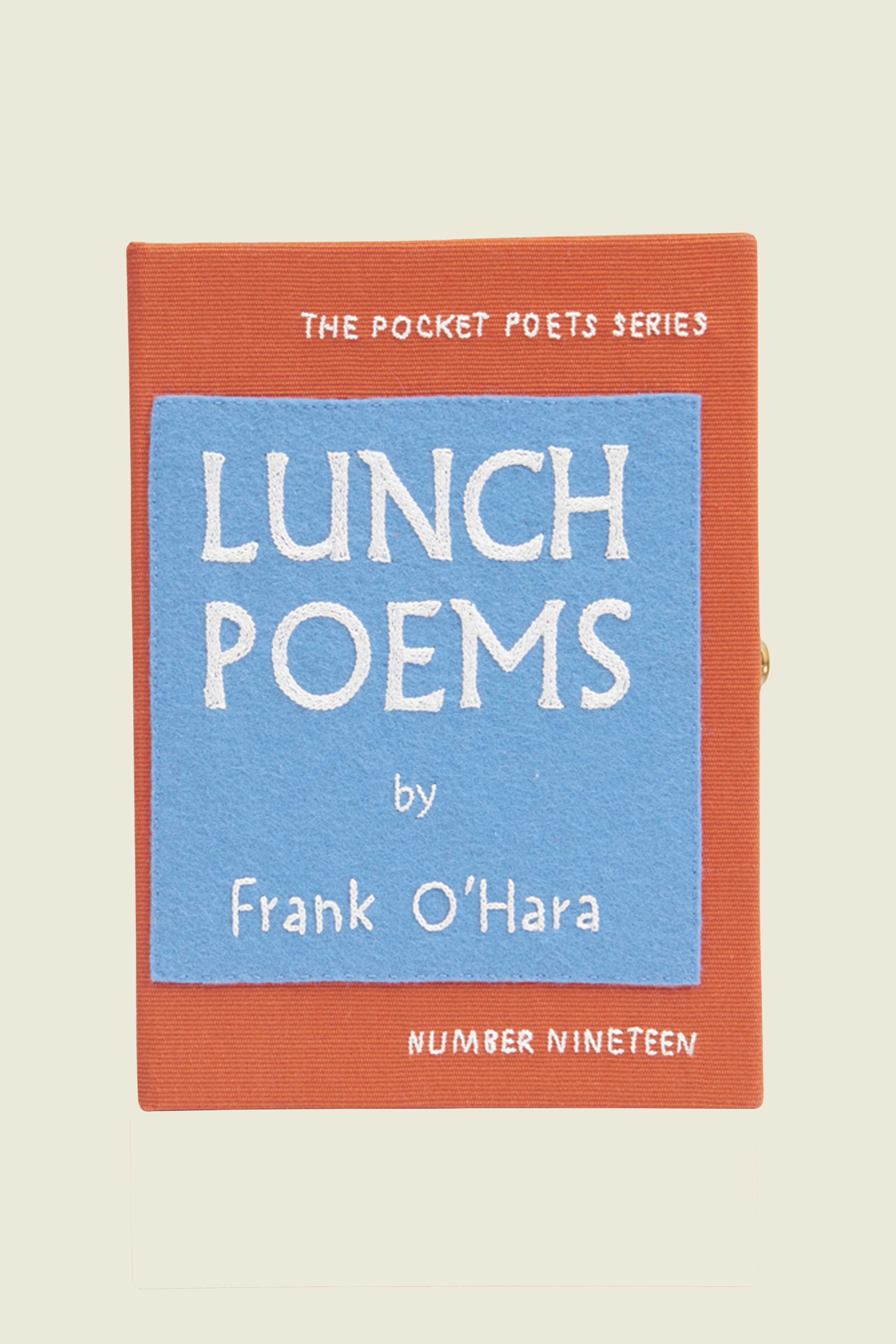 Olympia Le-Tan Lunch Poems Book Purse In Multi