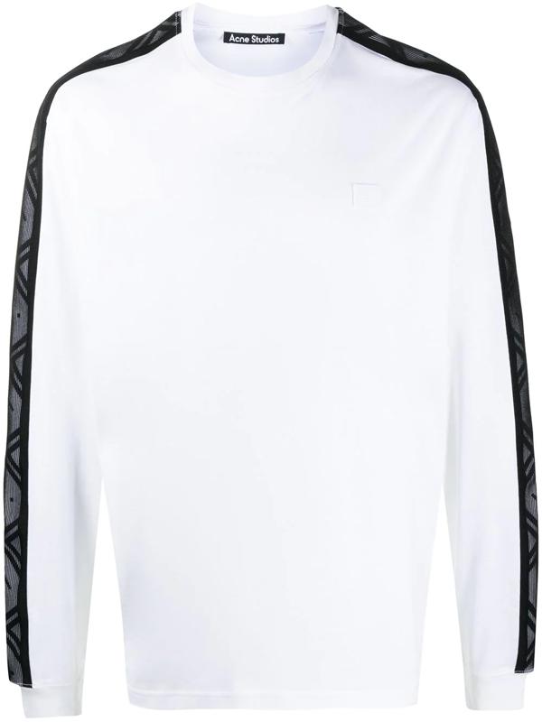 Acne Studios Long Sleeve T-shirt Optic White