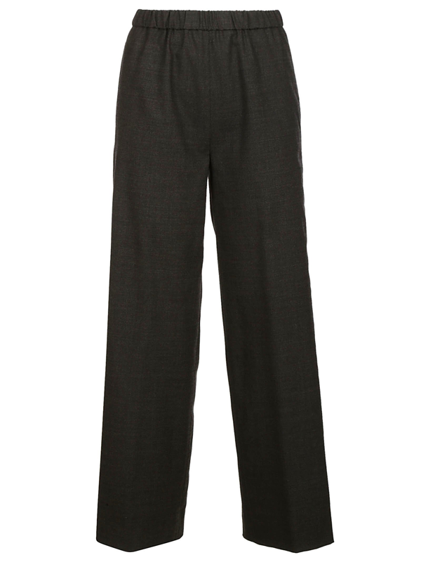 Aspesi Trousers In Grigio