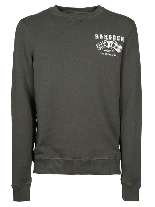 Barbour Sweaters In Grigio
