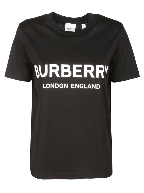 Burberry T-shirts And Polos In Nero