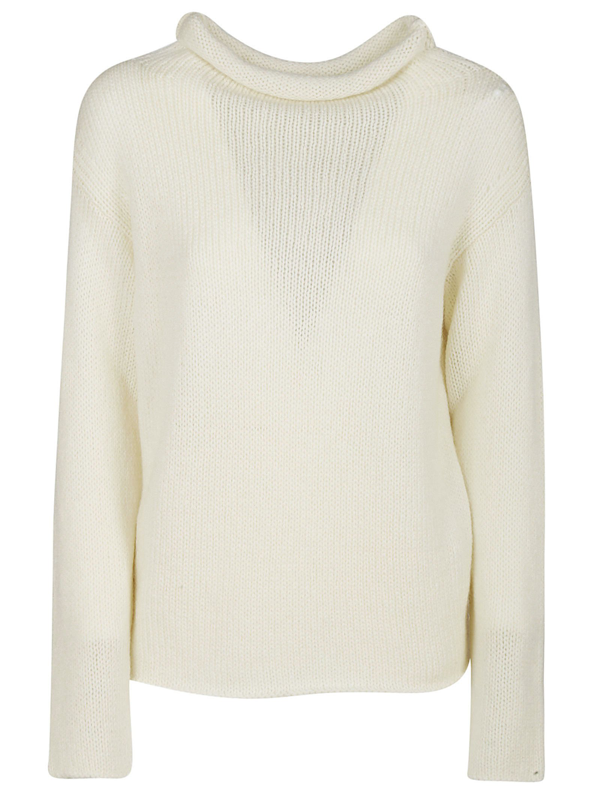 Dondup Sweaters In Bianco