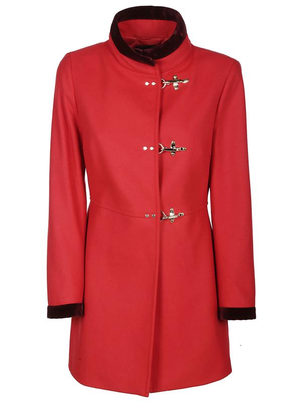 Fay Coats In Blu