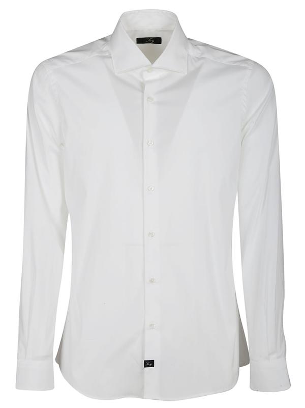 Fay Shirts In Bianco