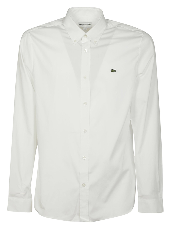 Lacoste Shirts In Bianco