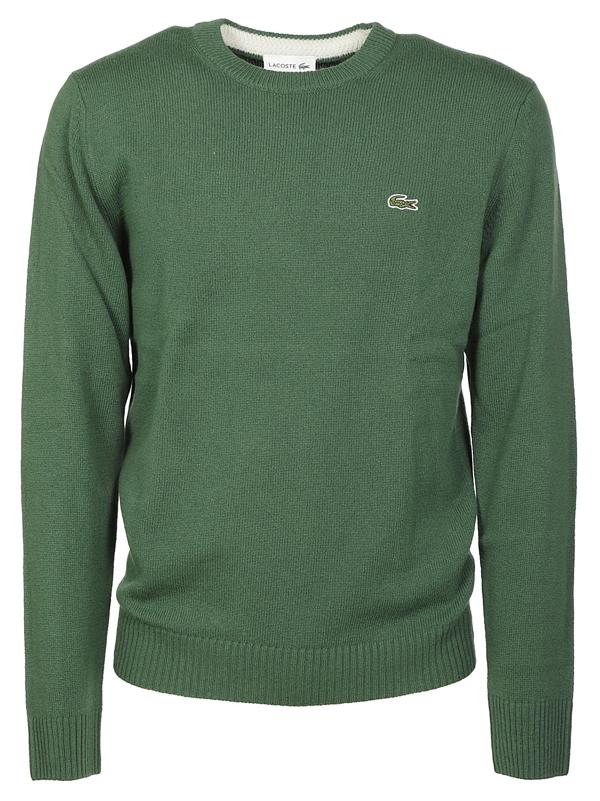 Lacoste Sweaters In Verde
